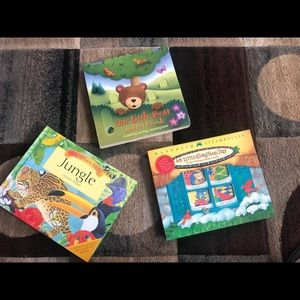 Three Interactive Children's Books